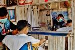 Zaklad fryzjerski w Laosie (3)