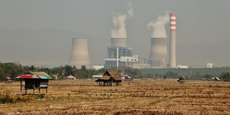 Hongsa Power Plant. Laos