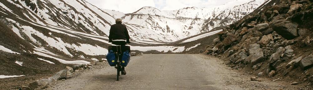 On the bike – Piotr Strzeżysz